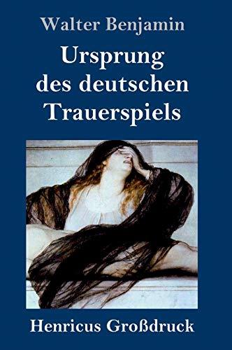 9783847845867: Ursprung des deutschen Trauerspiels (Großdruck)