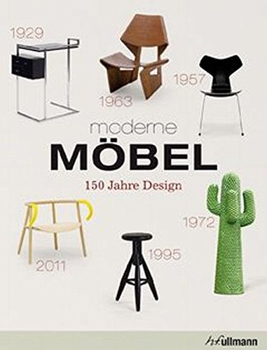 9783848000296: moderne M�bel: 150 Jahre Design
