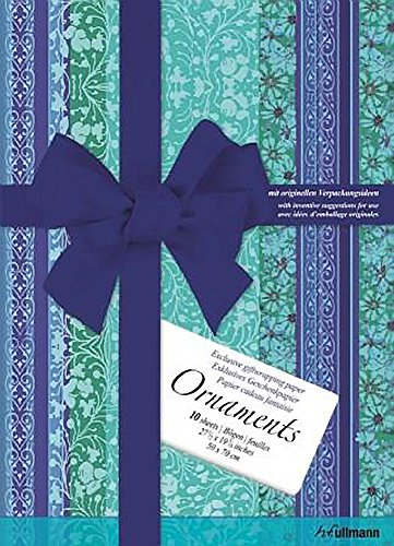 Gift Wrap Papers: Ornaments: Ullmann; Collective Work