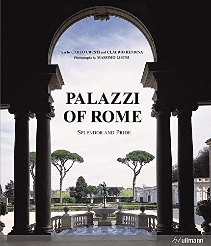 9783848003310: Palazzi of Rome: Splendor and Pride