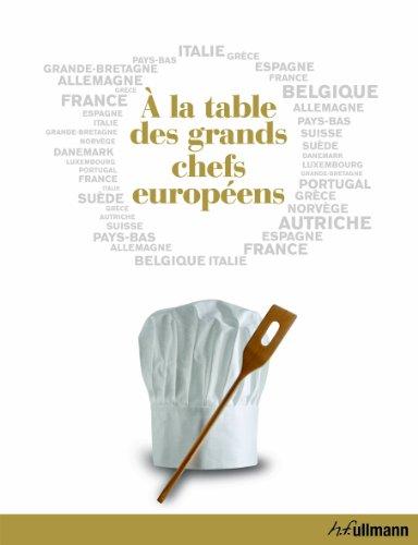 9783848003334: A la table des grands chefs europ�ens
