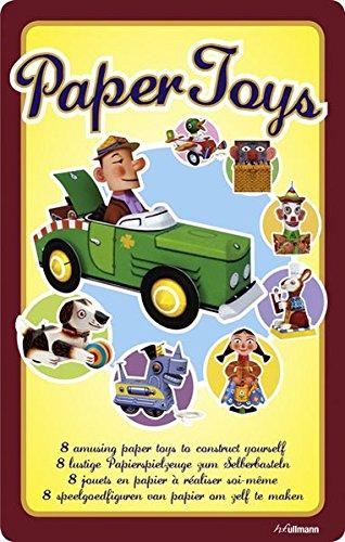 9783848004041: Paper Toys. 8 lustige Papierspielzeuge zum Selberbasteln.