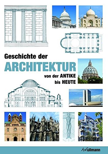 9783848004164: Geschichte der Architektur: von der Antike bis Heute