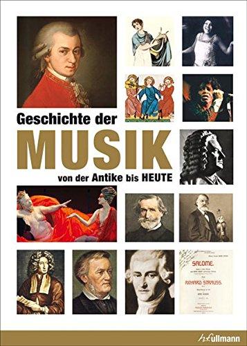 9783848005635: Geschichte der Musik: Von der Antike bis Heute