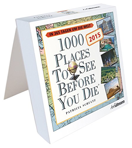 9783848007370: 1000 Places to see before you die Tageskalender 2015