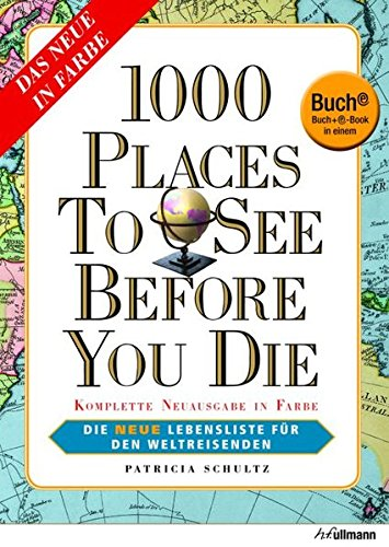 9783848010004: 1000 Places to see before you die. Buch + E-Book