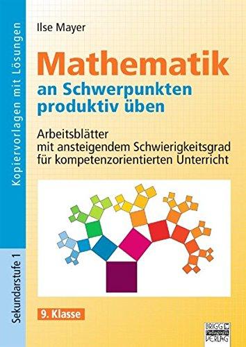 9783848111107 Mathematik An Schwerpunkten Produktiv üben