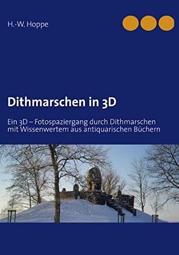 9783848202300: Dithmarschen in 3D: Ein 3D - Fotospaziergang durch Dithmarschen mit Wissenwertem aus antiquarischen B�chern