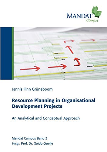 9783848208012: Resource Planning in Organisational Development Projects