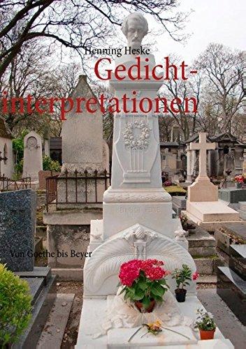 9783848222254: Gedichtinterpretationen (German Edition)