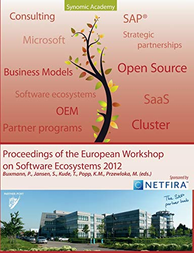 9783848223145: Proceedings of European Workshop on Software Ecosystems