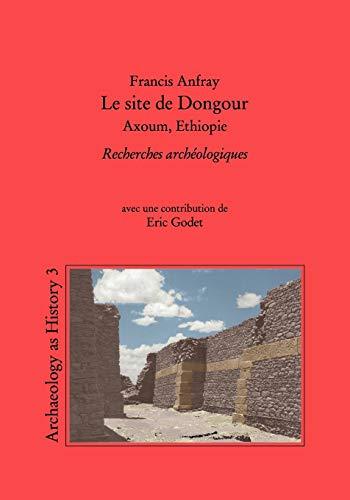 9783848223671: Le Site de Dongour (Axoum, Ethiopie)