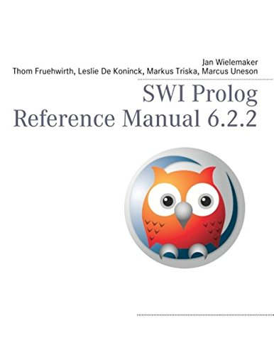 9783848226177: SWI Prolog Reference Manual 6.2.2