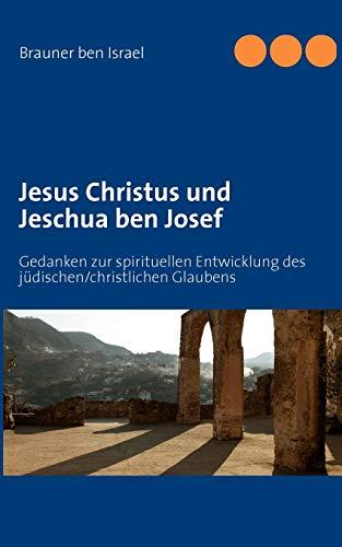 9783848226771: Jesus Christus Und Jeschua Ben Josef