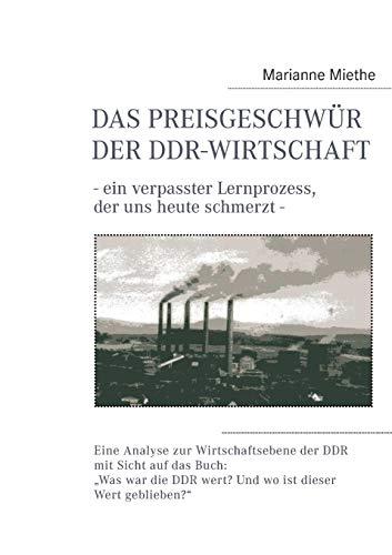 9783848242658: Das Preisgeschwur Der Ddr-Wirtschaft (German Edition)