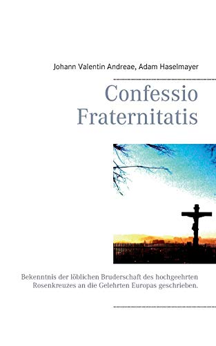 9783848251087: Confessio Fraternitatis (German Edition)