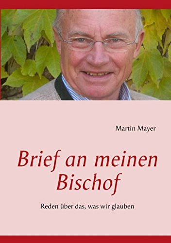 9783848251322: Brief an meinen Bischof (German Edition)