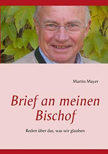 9783848251322: Brief an meinen Bischof