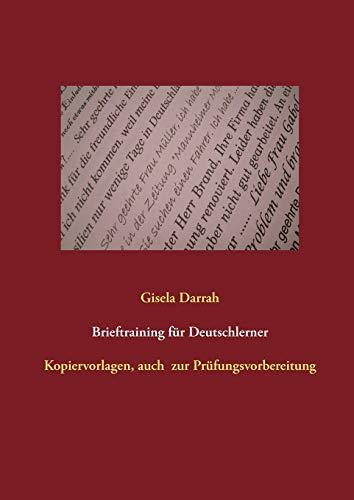 9783848251537: Brieftraining für Deutschlerner