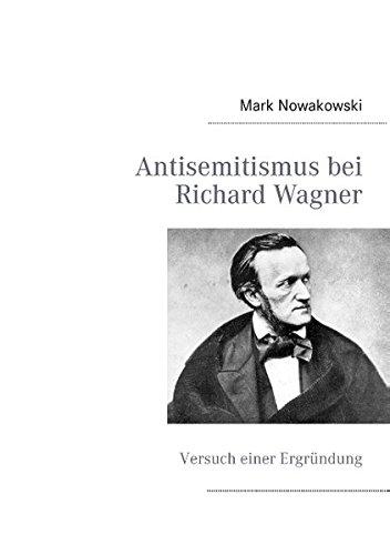 9783848259106: Antisemitismus bei Richard Wagner (German Edition)