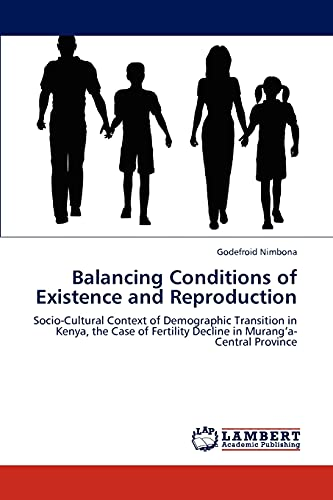 9783848402243: Balancing Conditions of Existence and Reproduction