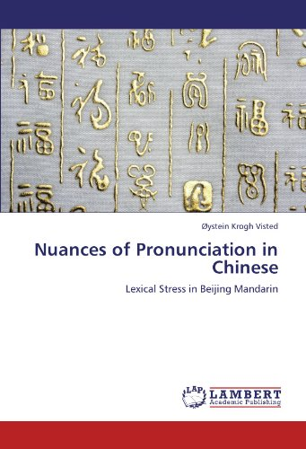 9783848410439: Nuances of Pronunciation in Chinese: Lexical Stress in Beijing Mandarin
