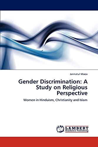Gender Discrimination: Jannatul Maoa