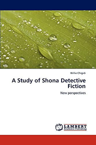 9783848428861: A Study of Shona Detective Fiction: New perspectives