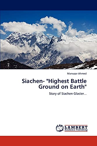 9783848436279: Siachen-