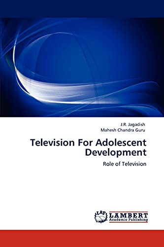 9783848438990: Television For Adolescent Development: Role of Television