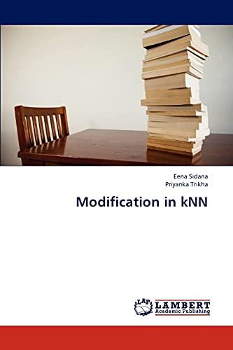 9783848440788: Modification in kNN