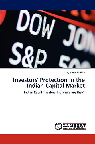 Investorsapos; Protection in the Indian Capital Market: Mehta, Jayashree