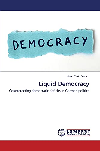 9783848448982: Liquid Democracy