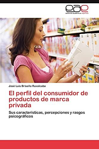 9783848457601: El perfil del consumidor de productos de marca privada