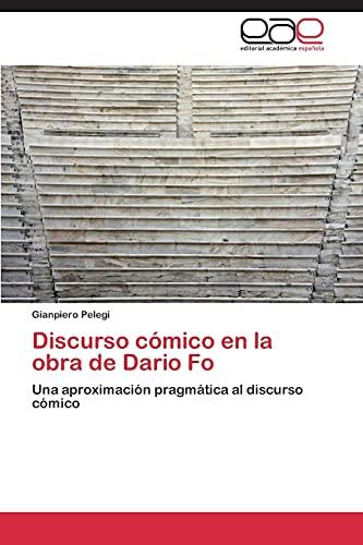 9783848457892: Discurso cómico en la obra de Dario Fo