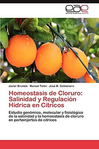 9783848458004: Homeostasis de Cloruro: Salinidad y Regulación Hídrica en Cítricos: Estudio genómico, molecular y fisiológico de la salinidad y la homeostasis de cloruro en portainjertos de cítricos (Spanish Edition)