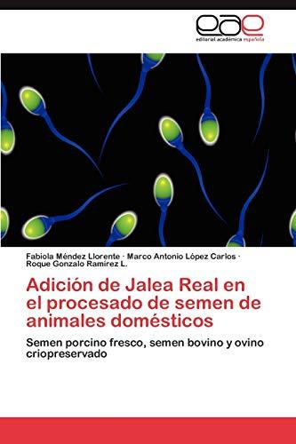 9783848459131: Adición de Jalea Real en el procesado de semen de animales domésticos: Semen porcino fresco, semen bovino y ovino criopreservado (Spanish Edition)