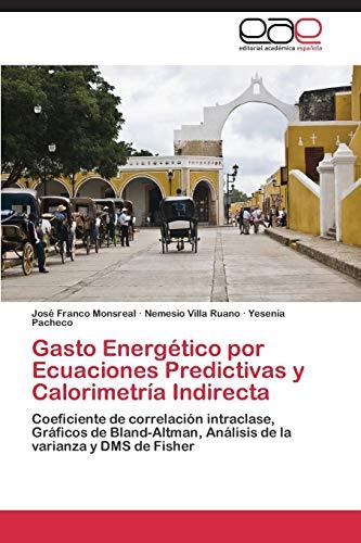 Gasto Energético por Ecuaciones Predictivas y Calorimetría Indirecta: José Franco Monsreal