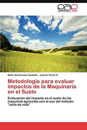 Metodología para evaluar impactos de la Maquinaria: Nahir del Carmen