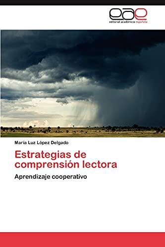 9783848460229: Estrategias de comprensión lectora: Aprendizaje cooperativo (Spanish Edition)