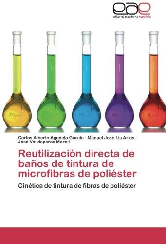 9783848461783: Reutilización directa de baños de tintura de microfibras de poliéster: Cinética de tintura de fibras de poliéster (Spanish Edition)