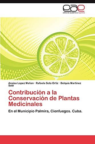 9783848462049: Contribucion a la Conservacion de Plantas Medicinales