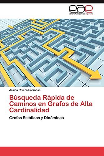9783848462544: Búsqueda Rápida de Caminos en Grafos de Alta Cardinalidad: Grafos Estáticos y Dinámicos (Spanish Edition)