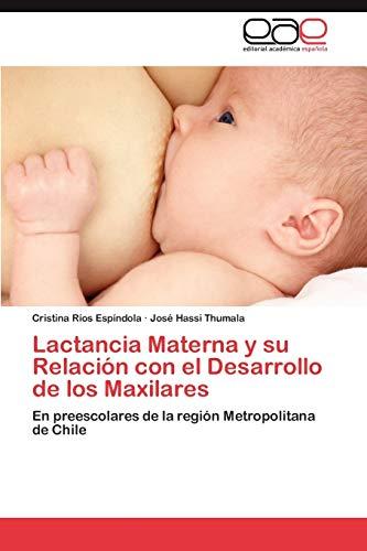 Lactancia Materna y Su Relacion Con El Desarrollo de Los Maxilares: Cristina RÃos EspÃndola