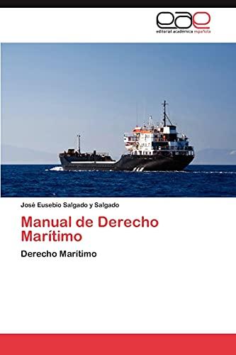 9783848465163: Manual de Derecho Maritimo