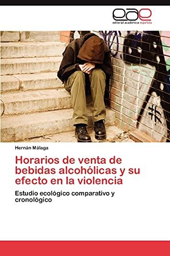Horarios de Venta de Bebidas Alcoholicas y Su Efecto En La Violencia: Hernán Málaga