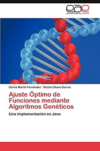 9783848466573: Ajuste Optimo de Funciones Mediante Algoritmos Geneticos