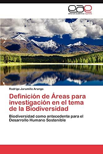 Definicion de Areas Para Investigacion En El: Jaramillo Arango, Rodrigo
