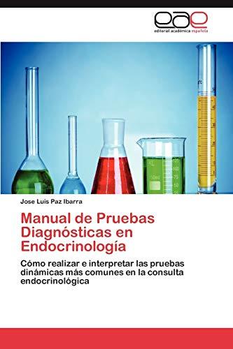 9783848468201: Manual de Pruebas Diagnosticas En Endocrinologia
