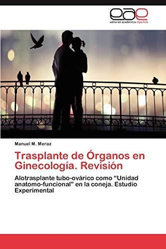 Trasplante de Organos En Ginecologia. Revision: Manuel M. Meraz